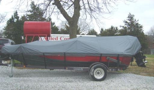 Bass Boat Cover